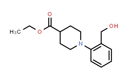 773870-63-6   1-(2-Hydroxymethylphenyl)piperidine-4-carboxylic acid ethyl ester