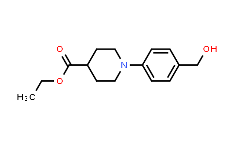 MC456003 | 914349-50-1 | 1-(4-Hydroxymethylphenyl)piperidine-4-carboxylic acid ethyl ester