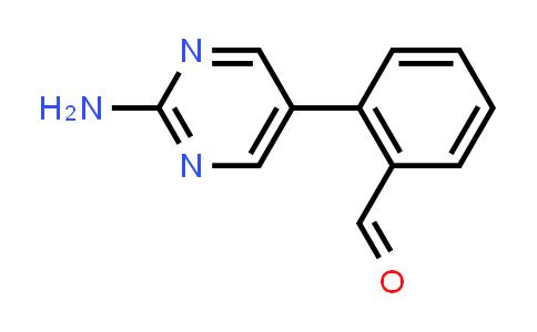 914349-52-3 | 2-(2-Aminopyrimidin-5-yl)benzaldehyde