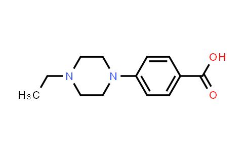 784130-66-1   4-(4-Ethylpiperazin-1-yl)benzoic acid