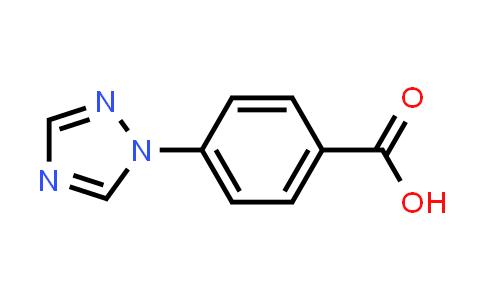 162848-16-0 | 4-[1,2,4]Triazol-1-yl-benzoic acid