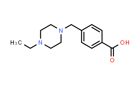 895519-97-8 | 4-(4-Ethylpiperazin-1-ylmethyl)benzoic acid