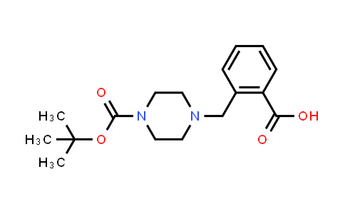 MC456017 | 914349-53-4 | 4-(2-Carboxybenzyl)piperazine-1-carboxylic acid tert-butyl ester