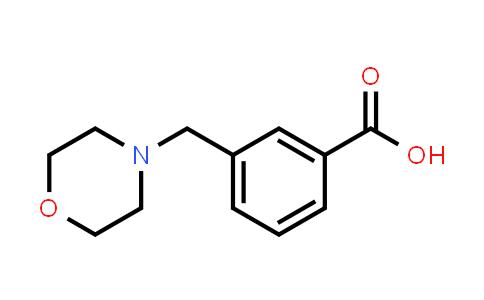 DY456019 | 67451-81-4 | 3-Morpholin-4-ylmethylbenzoic acid