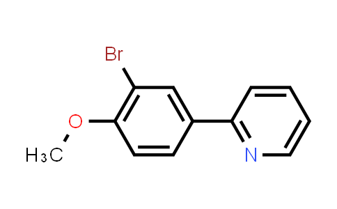 168823-65-2   2-(3-Bromo-4-methoxyphenyl)pyridine
