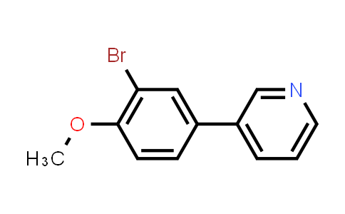 MC456023 | 914349-55-6 | 3-(3-Bromo-4-methoxyphenyl)pyridine