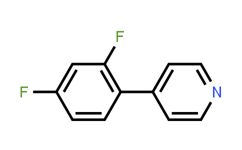 914349-56-7 | 4-(2,4-Difluorophenyl)pyridine