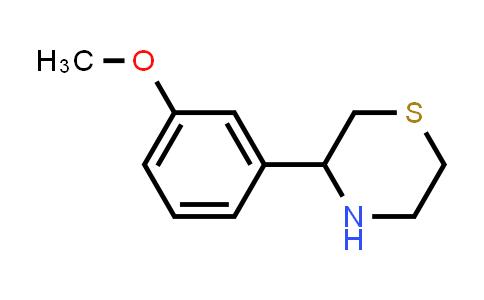 DY456038 | 914349-59-0 | 3-(3-Methoxyphenyl)thiomorpholine