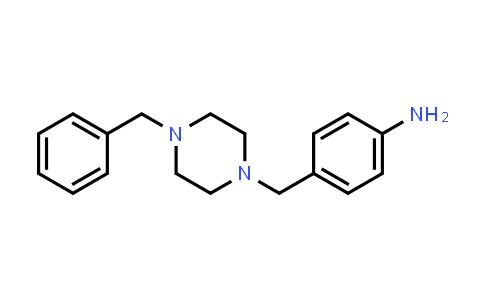 422517-70-2 | 4-(4-Benzylpiperazin-1-ylmethyl)phenylamine