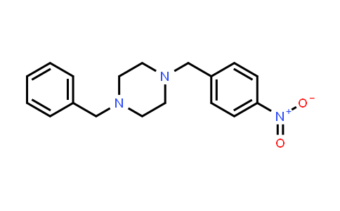 148120-37-0 | 1-Benzyl-4-(4-nitrobenzyl)piperazine