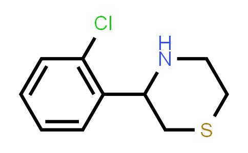 887344-30-1 | 3-(2-Chlorophenyl)thiomorpholine