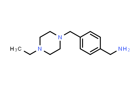 914349-67-0 | 4-(4-Ethylpiperazin-1-ylmethyl)benzylamine