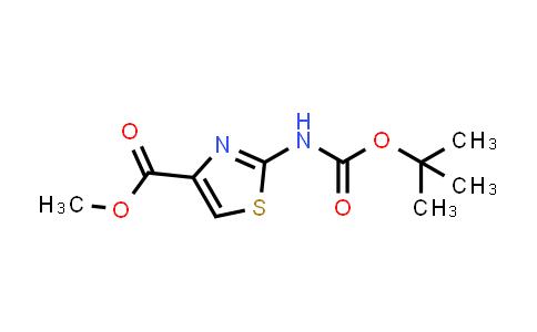 850429-62-8 | 2-tert-Butoxycarbonylaminothiazole-4-carboxylic acid methyl ester