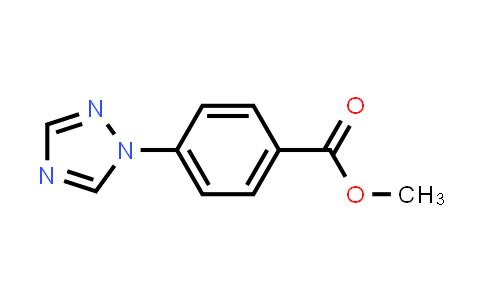 58419-67-3 | Methyl 4-[1,2,4]triazol-1-yl-benzoate