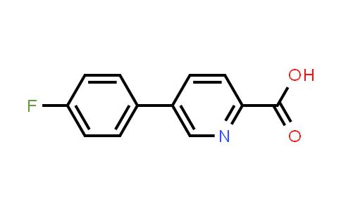 845826-99-5 | 5-(4-Fluorophenyl)pyridine-2-carboxylic acid