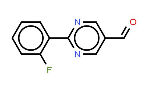 946707-17-1   2-(2-Fluorophenyl)pyrimidine-5-carboxaldehye