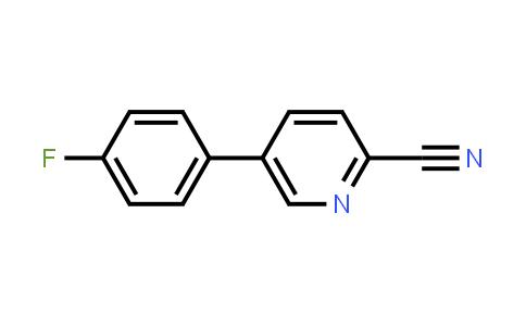 914349-75-0 | 5-(4-Fluorophenyl)pyridine-2-carbonitrile