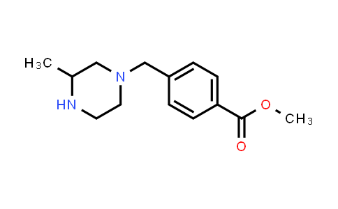 914349-83-0 | Methyl 4-(3-methylpiperazin-1-ylmethyl)benzoate