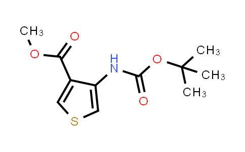 DY456134 | 161940-20-1 | 4-tert-Butoxycarbonylaminothiophene-3-carboxylic acid methyl ester