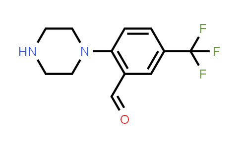 914347-13-0 | 2-Piperazin-1-yl-5-trifluoromethylbenzaldehyde