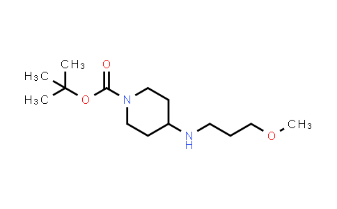 887588-23-0 | 4-(3-Methoxypropylamino)piperidine-1-carboxylic acid tert-butyl ester