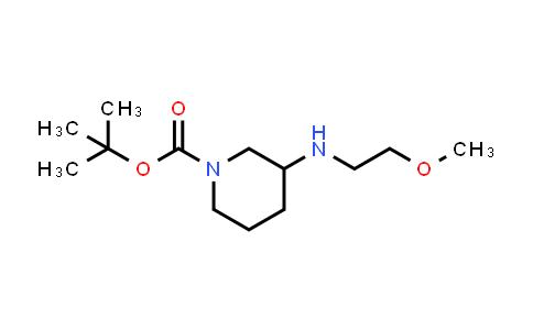 887588-09-2 | 3-(2-Methoxyethylamino)piperidine-1-carboxylic acid tert-butyl ester