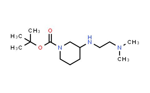 887588-48-9 | 3-(2-Dimethylaminoethylamino)piperidine-1-carboxylic acid tert-butyl ester