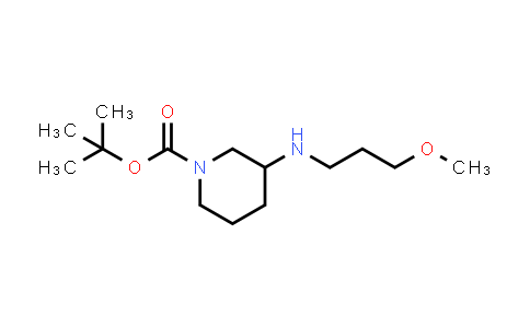 887588-18-3 | 3-(3-Methoxypropylamino)piperidine-1-carboxylic acid tert-butyl ester