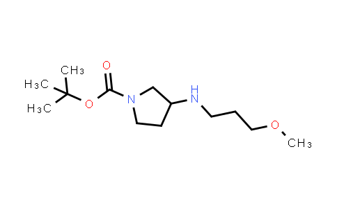 887587-38-4 | 3-(3-Methoxypropylamino)pyrrolidine-1-carboxylic acid tert-butyl ester