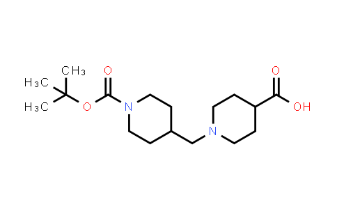 914347-32-3 | N-(tert-Butoxycarbonyl)piperidin-4-ylmethylpiperidine-4-carboxylic acid
