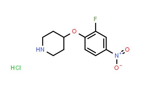 1189653-33-5   4-(2-Fluoro-4-nitrophenoxy)piperidine hydrochloride