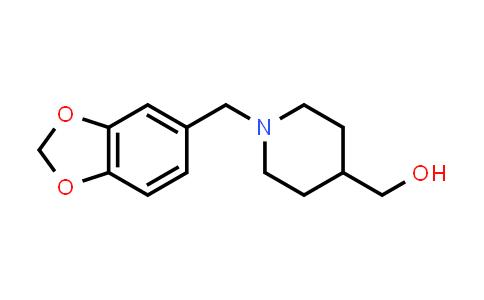 DY456181 | 914347-60-7 | (1-Benzo[1,3]dioxol-5-ylmethylpiperidin-4-yl)methanol