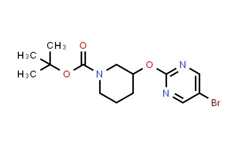 914347-76-5   3-(5-Bromopyrimidin-2-yloxy)piperidine-1-carboxylic acid tert-butyl ester