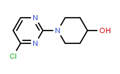 916791-08-7   1-(4-Chloropyrimidin-2-yl)-4-piperidinol