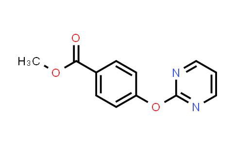 1090587-89-5 | 4-(Pyrimidin-2-yloxy)benzoic acid methyl ester