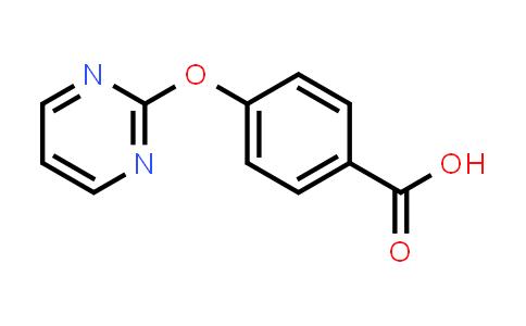 855423-33-5 | 4-(Pyrimidin-2-yloxy)benzoic acid