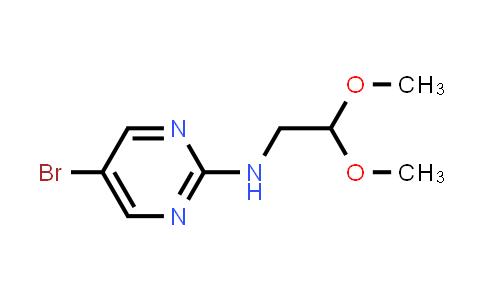 885267-37-8   (5-Bromopyrimidin-2-yl)-(2,2-dimethoxyethyl)amine