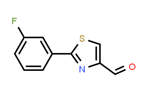 885279-20-9 | 2-(3-Fluoro-phenyl)-thiazole-4-carbaldehyde