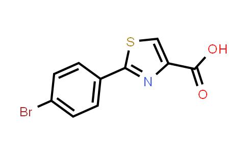 21160-50-9 | 2-(4-Bromo-phenyl)-thiazole-4-carboxylic acid