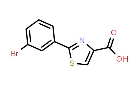 886369-02-4 | 2-(3-Bromo-phenyl)-thiazole-4-carboxylic acid