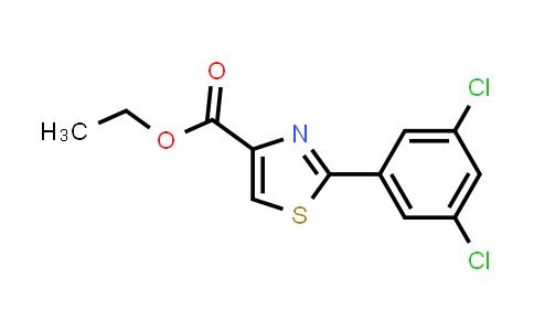 132089-38-4 | 2-(3,5-Dichlorophenyl)thiazole-4-carboxylic acid ethyl ester