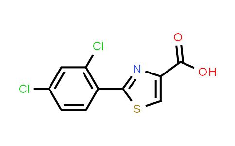 1094355-53-9 | 2-(2,4-Dichlorophenyl)thiazole-4-carboxylic acid