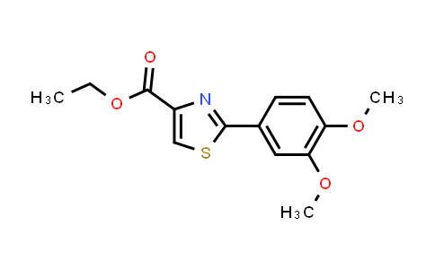 338982-18-6 | 2-(3,4-Dimethoxyphenyl)thiazole-4-carboxylic acid ethyl ester