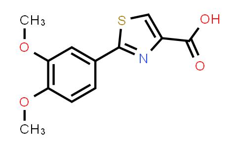 132307-22-3 | 2-(3,4-Dimethoxy-phenyl)-thiazole-4-carboxylic acid