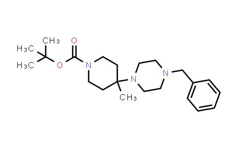 DY456254 | 1189489-52-8 | 4-(4-Benzylpiperazin-1-yl)-4-methylpiperidine-1-carboxylic acid tert-butyl ester