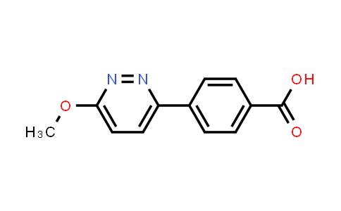 DY456257 | 281232-88-0 | 4-(6-Methoxy-pyridazin-3-yl)-benzoic acid