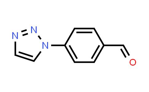 41498-10-6 | 4-[1,2,3]Triazol-1-yl-benzaldehyde