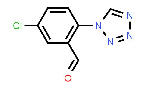 879016-22-5 | 5-chloro-2-(1H-tetrazol-1-yl)benzaldehyde