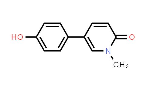 MC456275 | 945980-21-2 | 5-(4-hydroxyphenyl)-1-methylpyridin-2(1H)-one
