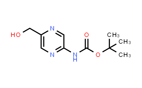 874476-55-8 | tert-butyl 5-(hydroxymethyl)pyrazin-2-ylcarbamate